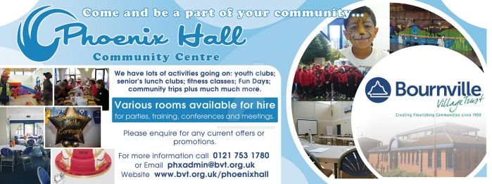 Phoenix Hall Community Centre Banner Design by Tommassey250