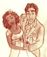 Tiana + Naveen - Married life by SerifeB