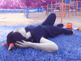 Homestuck: Picnic in the park day. by CoralLoire