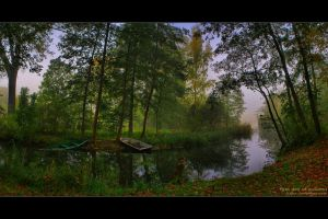 first day of autumn by bajka