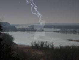 Storm on the Mississippi by bec312