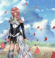 Lightning FFXIII-2 by Arlequinne