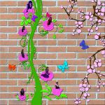 Wall Flowers by SiberianTiger22