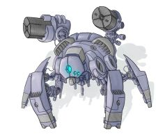 Random mecha design. by Bal-Bafu