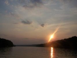 Heber Springs Sunset by spr3adthep3ace