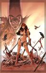 Red Sonja cover 17 by PaulRenaud