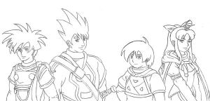 First Golden Sun Party by EricMHE