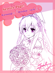 Kuro Usagi( Black Rabbit ver.wedding) by SpearRainz