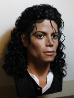 Michael Jackson lifesize Bad era/Moonwalker bust 3 by godaiking