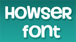 Howser FONT by HeyHelleen