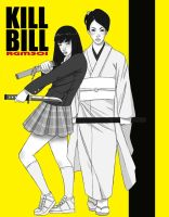 KILL BILL Gogo n O-ren by rgm501