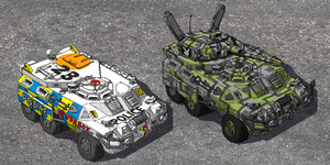 Urban Scout Vehicle by Bristow-Bailey