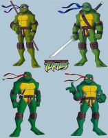 TMNT: BTTS redesign by Homey104