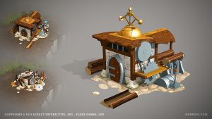 Sawmill by ogami3d