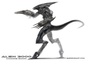 Alien 3000 by AlexRuizArt