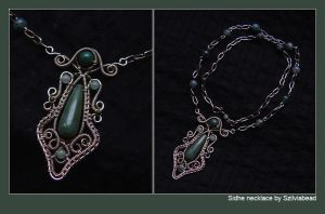 Sidhe necklace by bodaszilvia