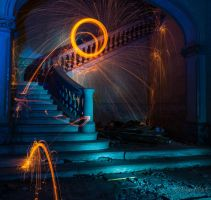 Day of lightpainting. by GerardPort