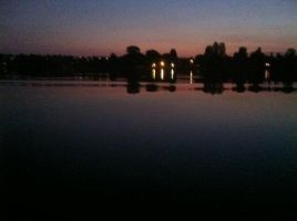 Evening At Greenlake, Seattle .3 by Scorpion31