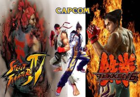 street fighter x tekken by GAME-ART-EDITED-ART