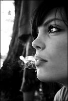 Smoke and Mirrors. B AND W. by little-miss-pink