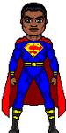 Superman (Earth-23 Calvin Ellis) by RealCyeofTorrent