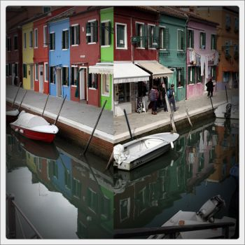 the colours of Burano by scheinbar