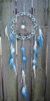 Blue Ombre Dreamcatcher Inspired by Cinderella by xsaraphanelia