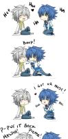 Aoba Clear Moment - Dramatical Murder Comic by LALASOSU2