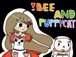 Bee and Puppycat by berebarre