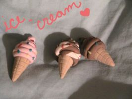 Ice Cream Necklace by Remyreaper