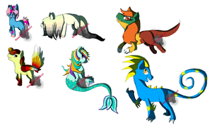 Some Sketchy Auctions - OPEN by SchattenspielKat