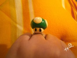 1-Up Mushroom Ring by HipsterOwlet