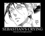 Sebastain's crying by girlstorm165