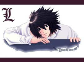 Death Note - L by Lawliet-san