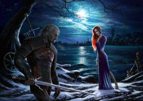 the witcher a night to remember by AvdeevIgor
