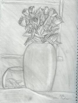 Still Life sketch by MilaPrower