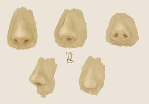Nose practice. by mkw-no-ossan