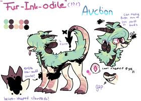 Another weird Furry croco ink thing Auction CLOSED by Iyd