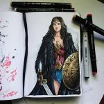 Instaart - Wonder Woman by Candra