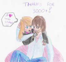 3000 Kiriban - Chin Stubble by Veester