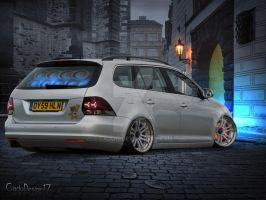 Vw Golf Variant by Cadu17