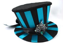 Pride of Juno - Mini Striped Top Hat by angelyques