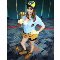 Female Fix-It Felix Jr. Cosplay by Sarah-Snitch