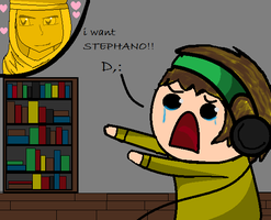 I want STEPHANO!!!!! ),: by Brenda199