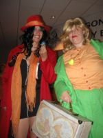 Carmen and Patty at DragonCon 2013 by MaryRyanBogard