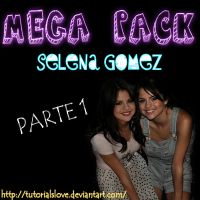 MEGA PACK ,Selena Gomez -Part 1 by TutorialsLove
