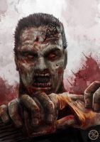 Zombie by agamarlon