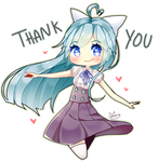 THANK YOU FOR 4K WATCHERS ! by Aruella