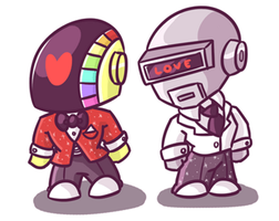 Daft Punk by Budgies