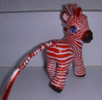 MLP Yukon Zebra by colorscapesart